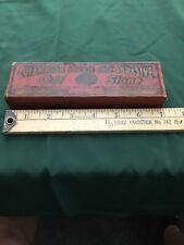 Champion Double Grit (Fine & Coarse) Abrasive Oil Stone & original Storage Box
