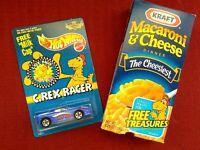 Kraft Macaroni Cheese Box - with Hot Wheels Camaro - C REX RACER1995