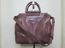 FRYE LILAC LEATHER RIVIANA TOTE BAG LARGE PURSE $498
