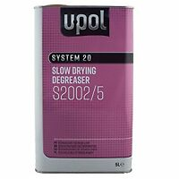 U-pol System 20 Slow Panel Wipe & Degreaser 5 L Litre UPOL Panelwipe