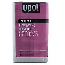 U-pol System 20 Slow Panel Wipe & Degreaser 5 L Litre UPOL Panelwipe