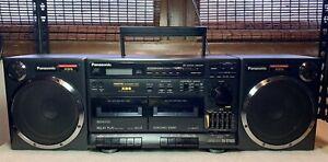 Vintage Panasonic RX-CT900 Boombox w/ Detachable Speakers Cassette FM