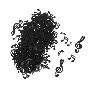 1Pack Black Musical Note Confetti Music Party Wedding Party Decoration Supplies