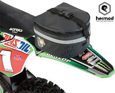 Moose Racing guardabarros trasero paquete Enduro Off Road Moto Bolsa-Negro