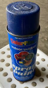 Vintage Color Place Spray Paint Can! Model No.20001 Royal Blue! **FAST DRY**