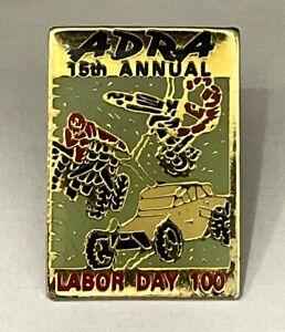 ADRA 15th Annual Labor Day 100 Pin Badge  Resort Souvenir Travel Lapel
