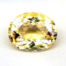 TOP BIG HELIODOR : 13,41 Ct Natürlicher Heliodor ( Gold Beryll ) aus Brasilien