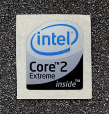 Intel Core 2 Extreme Inside Sticker 16 x 19.5mm For Laptop Case Badge