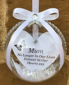 Personalised Memory Bauble, Christmas Gifts, Personalised Christmas Bauble