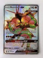 Buzzwole GX SV68/SV94 Shiny Ultra Rare Holo Pokemon Hidden Fates PACK FRESH M