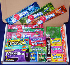 American Candy Gift Box - Retro Sweets - Birthday Present - Airheads - Tootsie