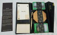 Vintage Skai-Hide Bridge Set w/ Forward Line Pencil Sea Sprite IV Playing Cards