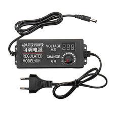 9-24V 3A 72W Velocidad Controlar Voltio AC/DC AjustablePoder Adaptador