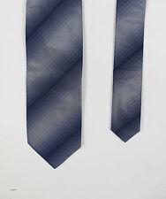 Roy Robson-Blu Grigio Gradient Cravatta Di Seta-Taglia unica - * NUOVO CON ETICHETTE * RRP £ 40