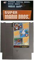 Super Mario Bros Duck Hunt Track Meet Nintendo NES Original retro game cartridge