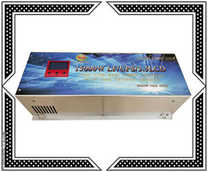 60000W Peak 15000W LF Pure Sine Wave 48VDC/240VAC Power Inverter LCD/UPS/Charger