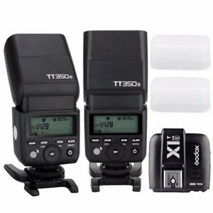 Godox TT350S HSS TTL Speedlite Flash / X1T-S Wireless 2.4G Trigger for Sony