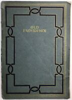 1918 OLD PROVIDENCE RHODE ISLAND ILLUSTRATED HISTORIC SITES CENTENARY 1ST RARE