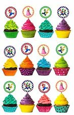 Mario Brothers Cutout Double Sided Cupcake Picks Cake Toppers 12 pcs