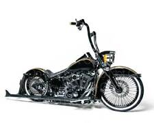 Harley Davidson Softail Custom Motorcycle 8X10 photo picture poster print RP
