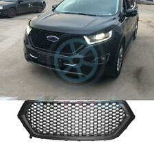 For Ford Edge 2015-2018 ABS Front Bumper Grille Honeycomb Grill Vent Grid Refit