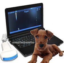 Animal Digital Laptop VET Veterinary Ultrasound Scanner Convex Probe+3D Battery