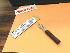 New Starrett No166c Pin Vise With Insulated Octagonal Handle 050 125 Range