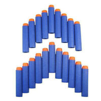 50PCS GUN SOFT REFILL BULLETS DARTS ROUND HEAD BLASTERS FOR NERF N-STRIKE TOY