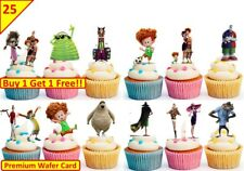 50 Hotel Transylvania 3 Cup Cake Edible Wafer Toppers Decorations Stand up