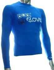 Body Glove Rash Guard Lycra Basic Men Blue Longsleeve Shirt Kite Surfing