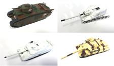 LOT DE 4 CHARS MILITAIRES FRANÇAIS 1/72 WW2 AMX LECLERC TANK MILITARY VEHICULE
