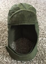 Vtg Vietnam War USMC Helmet Cap Insulating Winter Green Size 7.5 Made in USA