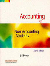 """VERY GOOD"" Accounting For Non Accounting Students, Dyson, J.R., Book"