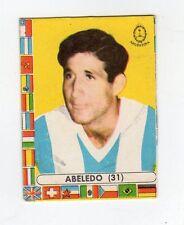 [RCL] FIGURINA LAMPO CALCIATORI CILE 1962 ARGENTINA NUMERO 31 ABELEDO