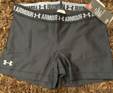 New NWT Womens Under Armour Large 1297899 Tights Shorts Compression