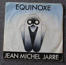Jean Michel Jarre, equinoxe part 1 & 5, SP - 45 tours import Holland