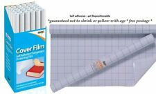 Quality Roll Clear Sticky Back Plastic Book Cover Film Adhesive Protector Fablon