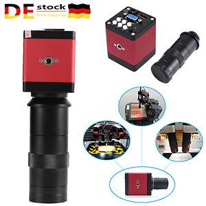 14MP HDMI HD Industrie60F/S Elektronisch Video Mikroskop kamera C-Mount-Objektiv