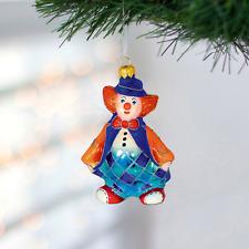 Clown - hand blown glass figurine - Christmas ornaments
