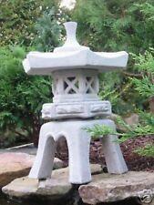 japanische Steinlaterne Yukimi S Koiteich Figur Gartendekoration