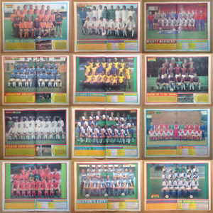 Tiger Comic Magazine Football Team Squad Line Up Centre Page Pictures - Various