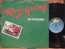 REDGUM Cut To The Quick 1982 OZ Folk-Rock LP ~ John Schumann