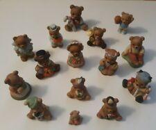 Homco Bear Figurines, 24 Pc. miscellaneous lot