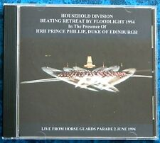 LIVE HOUSEHOLD DIVISION BEATING RETREAT 1994 CD FLOODLIT WITH COMMENTARY