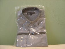 Men's MAXXIM Grey Long Sleeve Dress Shirt Size 16 L NEW!