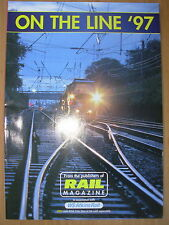 ON THE LINE 97 - RAIL MAGAZINE SUPPLEMENT