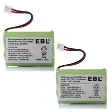 2pc 3.6v 800mAh Home  Phone Battery for AT&T 27910 GE 5-2522 5-2721 27990 21098