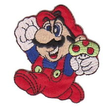 Super Mario 1 UP Mushroom Cartoon Vedio Game Appliques Embroidery Iron on Patch