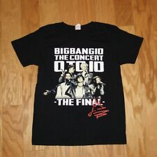 Big Bang 10 The Concert 0 to 10 The Final S/S Tee Shirt Size M KPOP Authentic