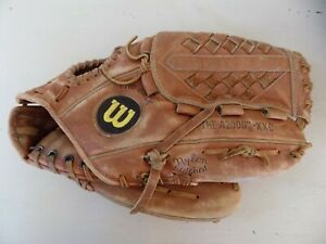 """Vintage Wilson A2000""""-XXC Baseball Glove Right Hand Throw Made in Japan"""
